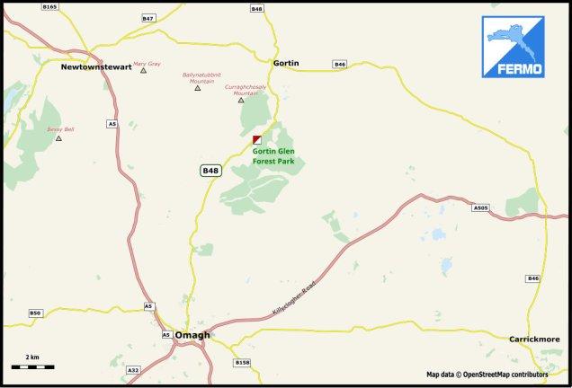 Gortin Glen Location